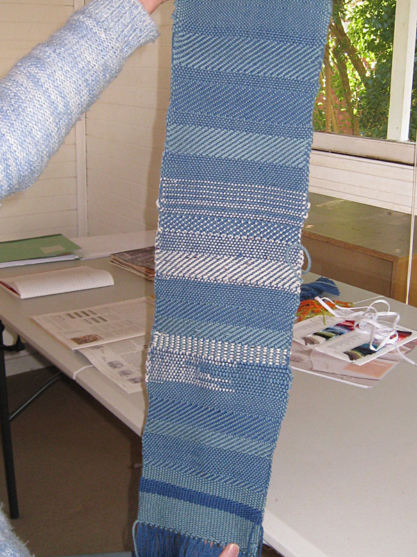 Sample weaving 1st Project