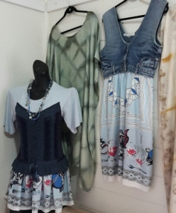 Unique upcycled clothing by Mandira